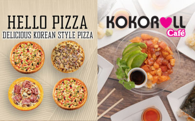 Hello Pizza and Kokoroll Café Dine Out | Sept 9th